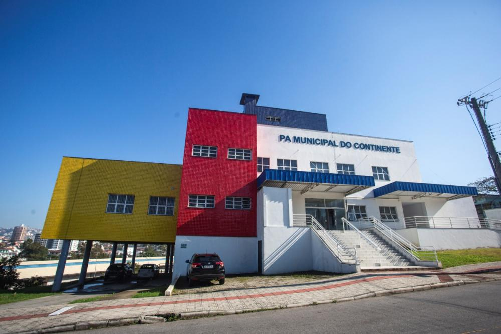 Prédio da UPA do Continente tem três andares e 2.500 metros quadrados - Daniel Queiroz/ND