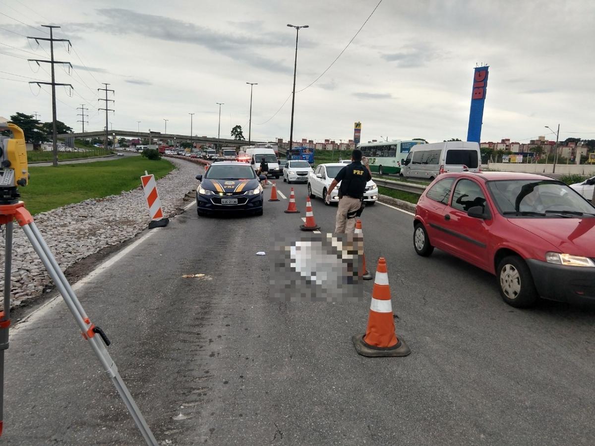 Acidente ocorreu no sentido Ilha - PRF/Divulgação