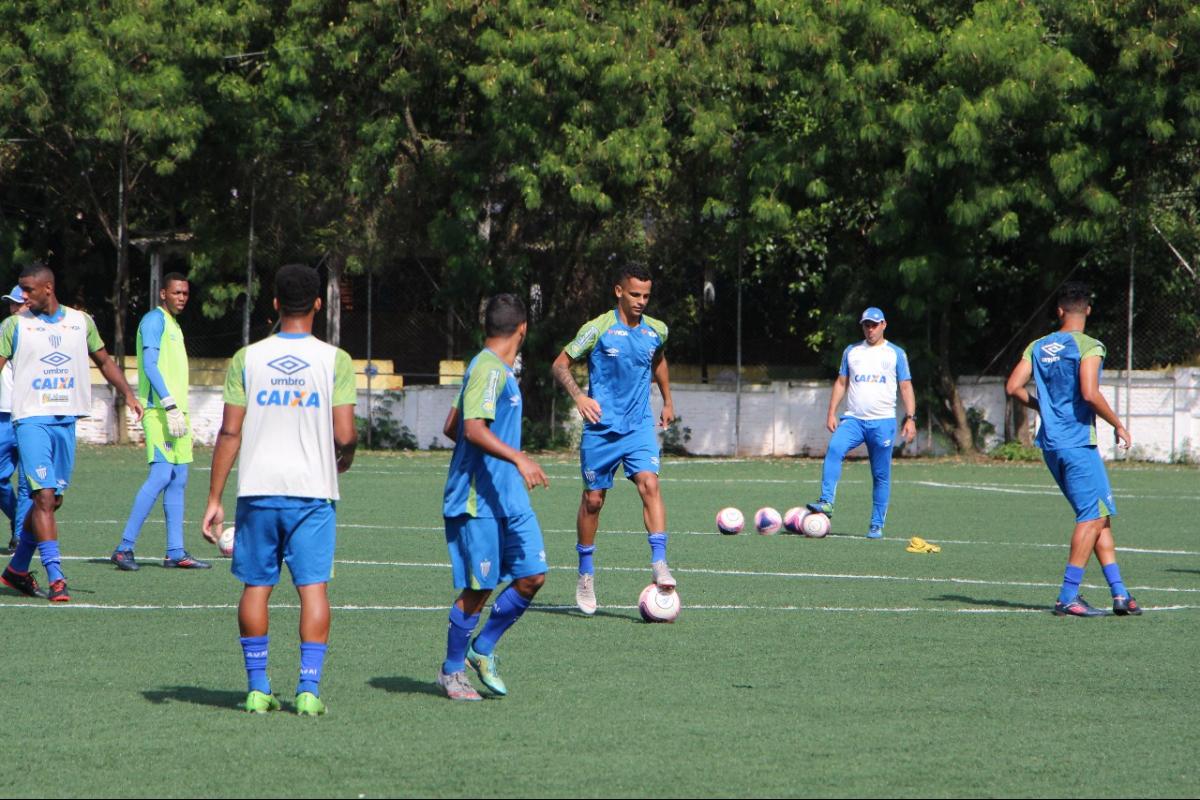 Atletas do Avaí treinaram nesta quarta-feira (2) em São Paulo - Fabiano Rateke/Avaí FC/ND