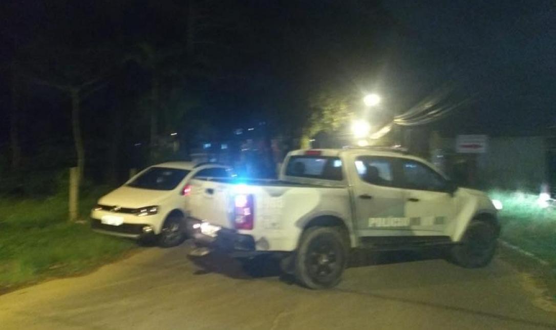 Ocorrência policial aconteceu na noite deste domingo no Rio Vermelho - Coronel Araújo Gomes/ Reprodução Facebook/ ND