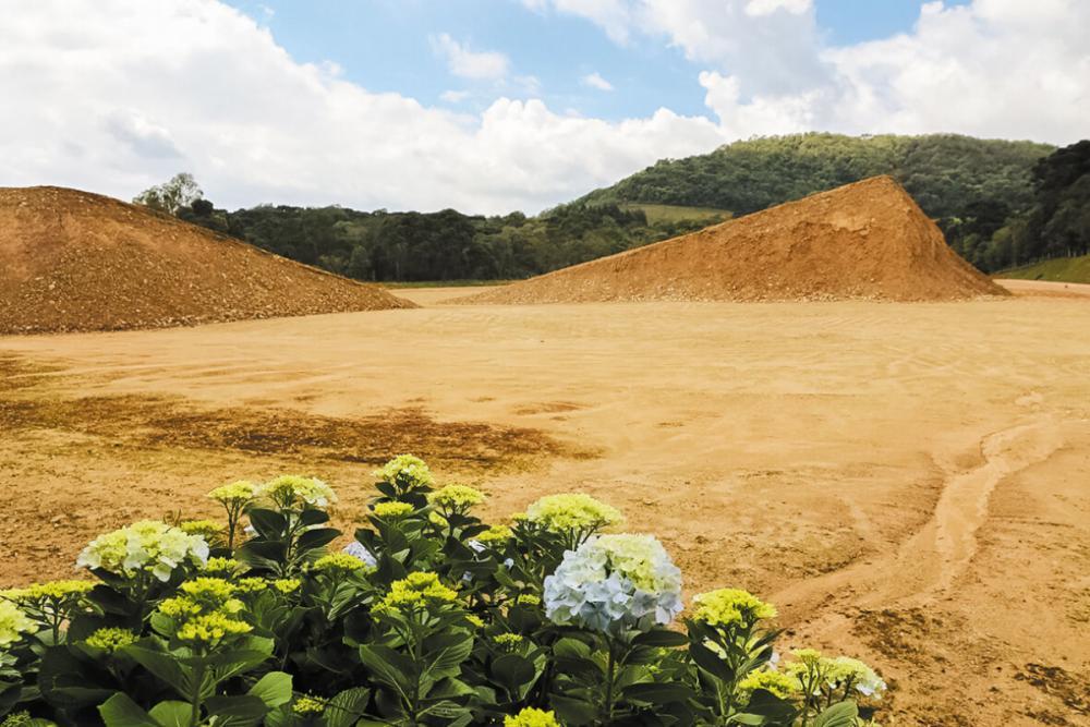 Cuidados com as jazidas incluem redução de impactos nestes locais e atenção especial à fase de recuperação - Emerson Leal/Portobello