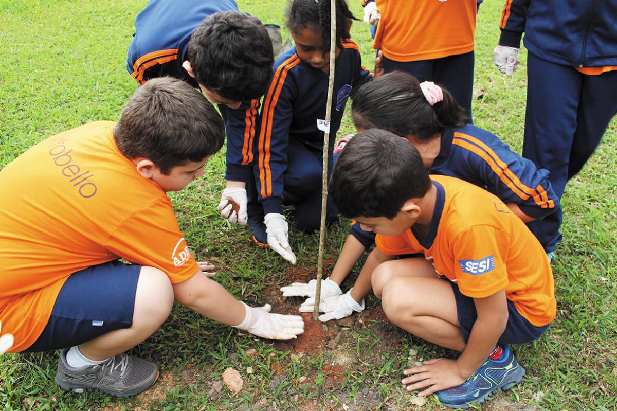Educar para respeitar e preservar a natureza é uma das missões da Portobello - Divulgação/Portobello