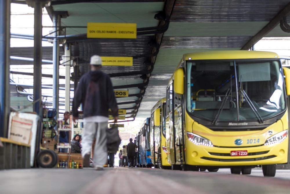 Terminal Urbano Cidade Florianópolis - Marco Santiago/ND