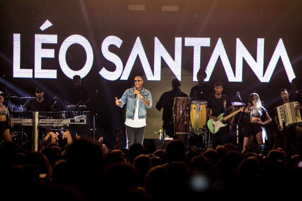 Programa de domingo: cheio de hits, Léo Santana traz sua mistura de ritmos, do axé ao funk - Divulgação/ND