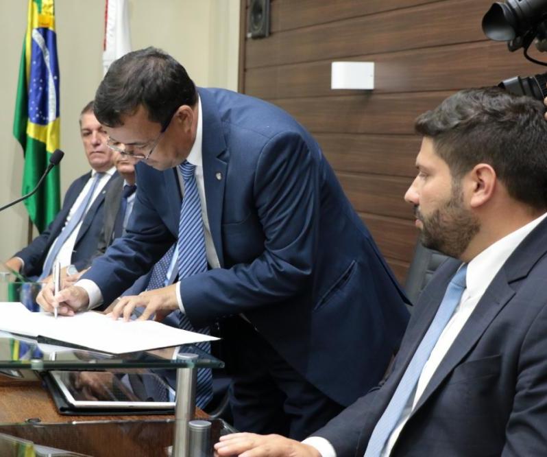 Katumi é novo presidente do Legislativo municipal - Divulgação, ND