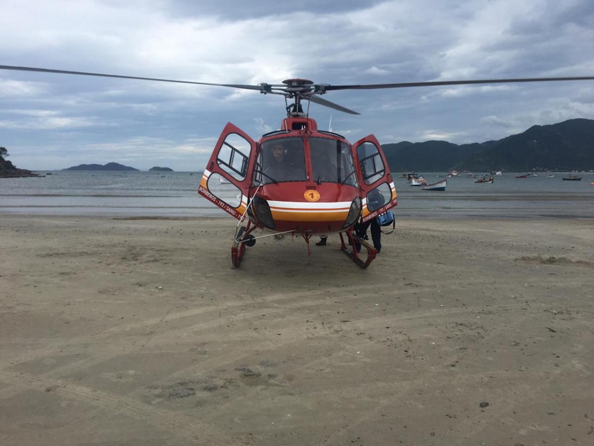 Homem caiu de pedras durante trilha e se afogou no Sul da Ilha - Arcanjo/Divulgação/ND