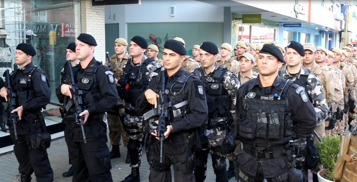 Policiais Operação Adsumus - Israel Costa/PM/ Divulgação ND