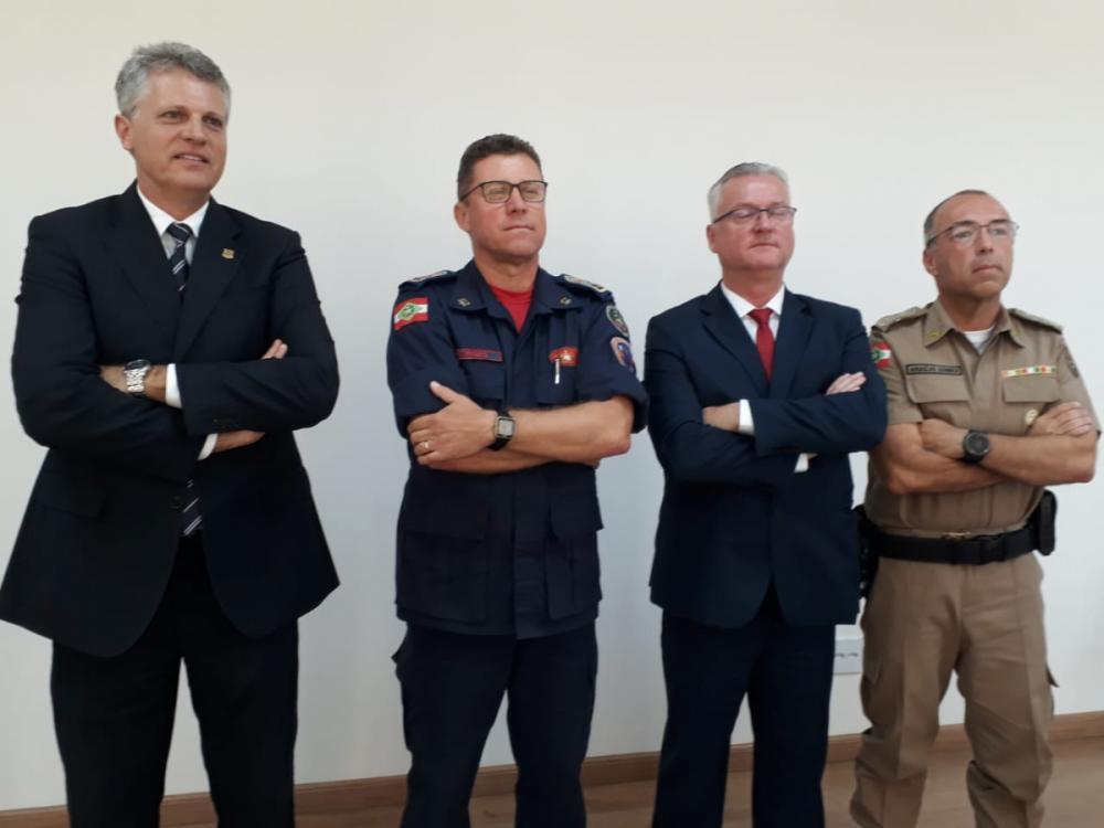 Os homens de ouro da segurança pública de Santa Catarina - Divulgação