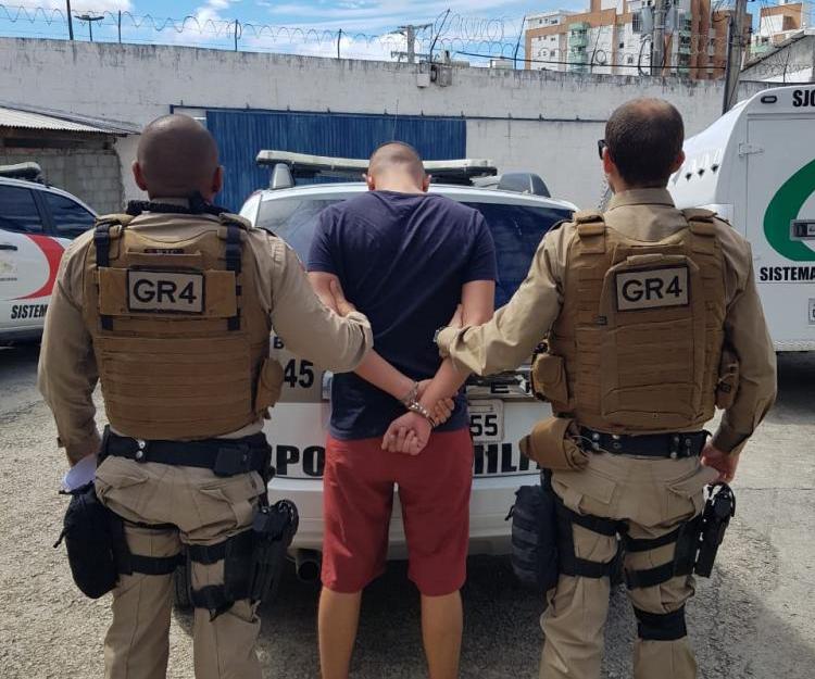 Segunda prisão ocorreu na manhã deste domingo - Divulgação/PMSC