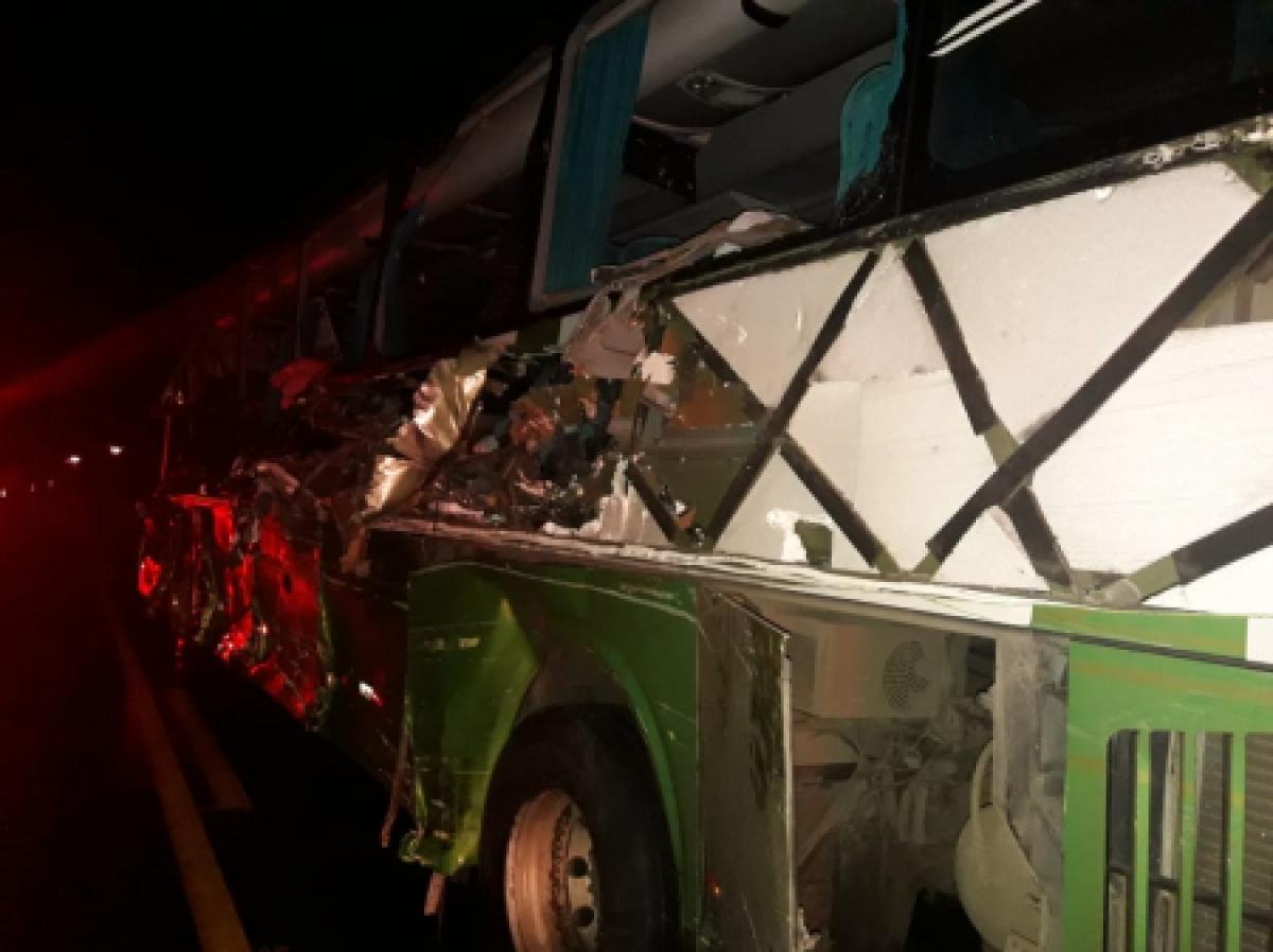 No ônibus havia 28 passageiros - PRE-PR/Divulgação