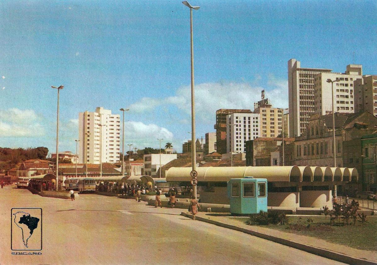 Terminal Francisco Tolentino surgiu em 1974 e funcionou durante quase 30 anos - | Acervo Carlos Damião