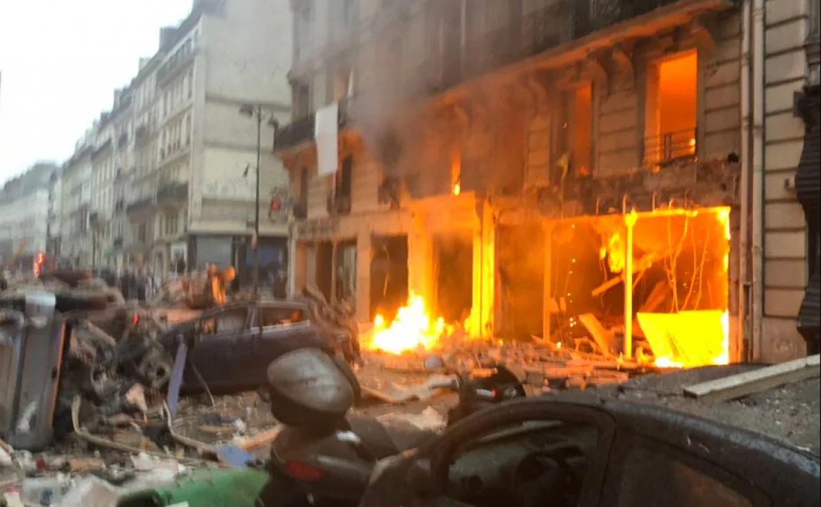 Explosão em padaria ocorreu após vazamento de gás - Divulgação/ND