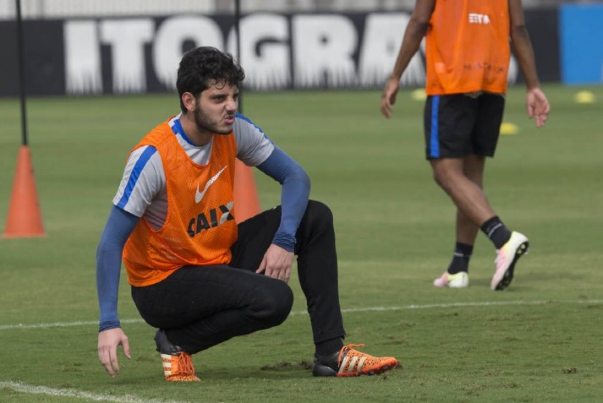 Goleiro Matheus Vidotto, de 25 anos, que defendia o Corinthians, assinou contrato com o Furacão até o final deste ano - Daniel Augusto Jr. /Ag. Corinthians