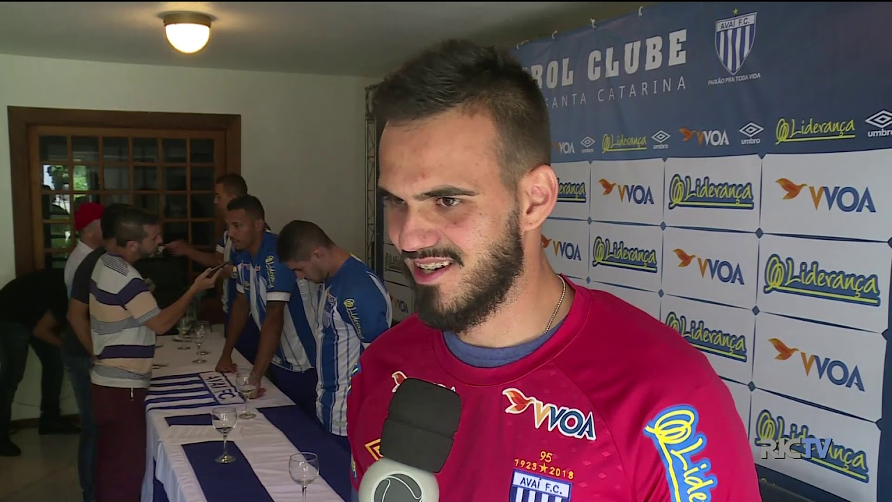 Avaí apresenta novos reforços para a disputa do Campeonato Catarinense - Reprodução/RICTV Record TV