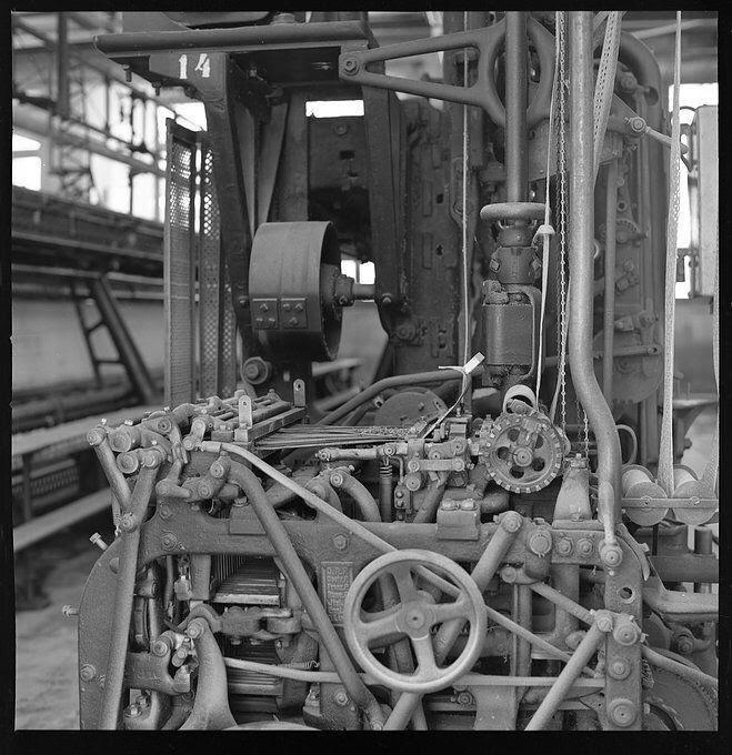 """A exposição """"Matéria de Memória"""" traz fotos do antiga Fábrica de Bordados Hoepcke – Cláudio Brandão/Divulgação/ND"""