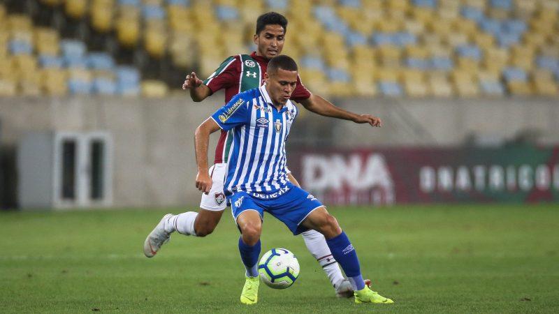 Primeira vitória do Avaí na Série A 2019 demorou 17 rodadas e aconteceu no Maracanã, diante do Fluminense - Lucas Mercon/ND
