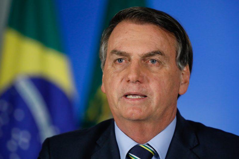 Presidente da República, Jair Bolsonaro, falou sobre a entrevista do ministro da Saúde neste domingo (12) – Foto: Isac Nobrega/ND