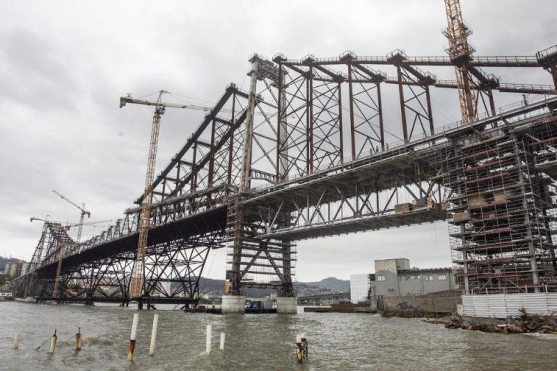Em nona posição, a ponte Hercílio Luz - Marco Santiago/Arquivo/ND