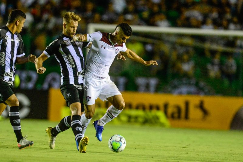 Figueirense 1 x 0 Fluminense na maior partida do clube em mais de um ano; jogo de volta a espera do fim da pandemia do coronavírus - ESTADÃO CONTEÚDO/ND