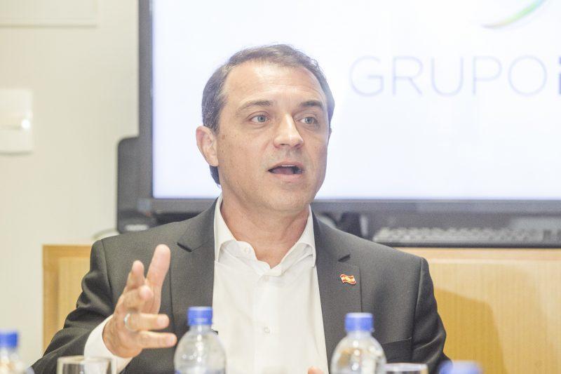 Carlos Moisés fala dos principais temas do governo a jornalistas do Grupo RIC – Marco Santiago/ND