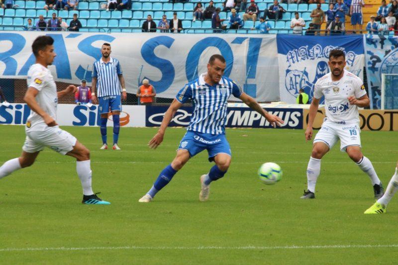 Pedro Castro marcou o primeiro gol do Avaí no jogo – Frederico Tadeu/Avaí