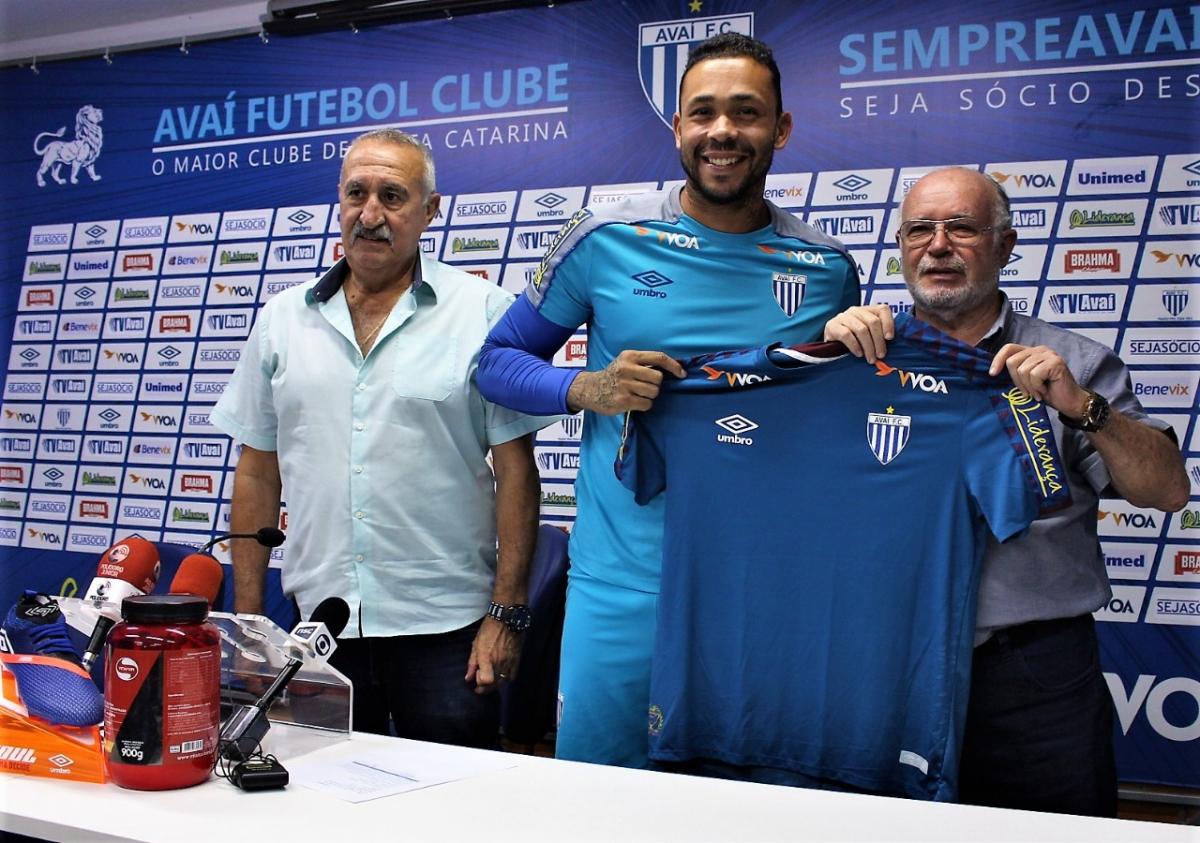 Vladimir, novo goleiro do Avaí - André Palma Ribeiro/Avaí FC/divulgação