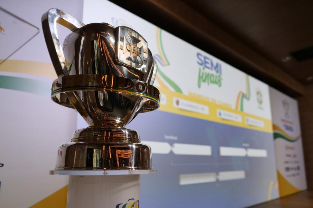 Equipes conheceram adversários na Copa do Brasil na noite desta quinta-feira - Lucas Figueiredo/CBF