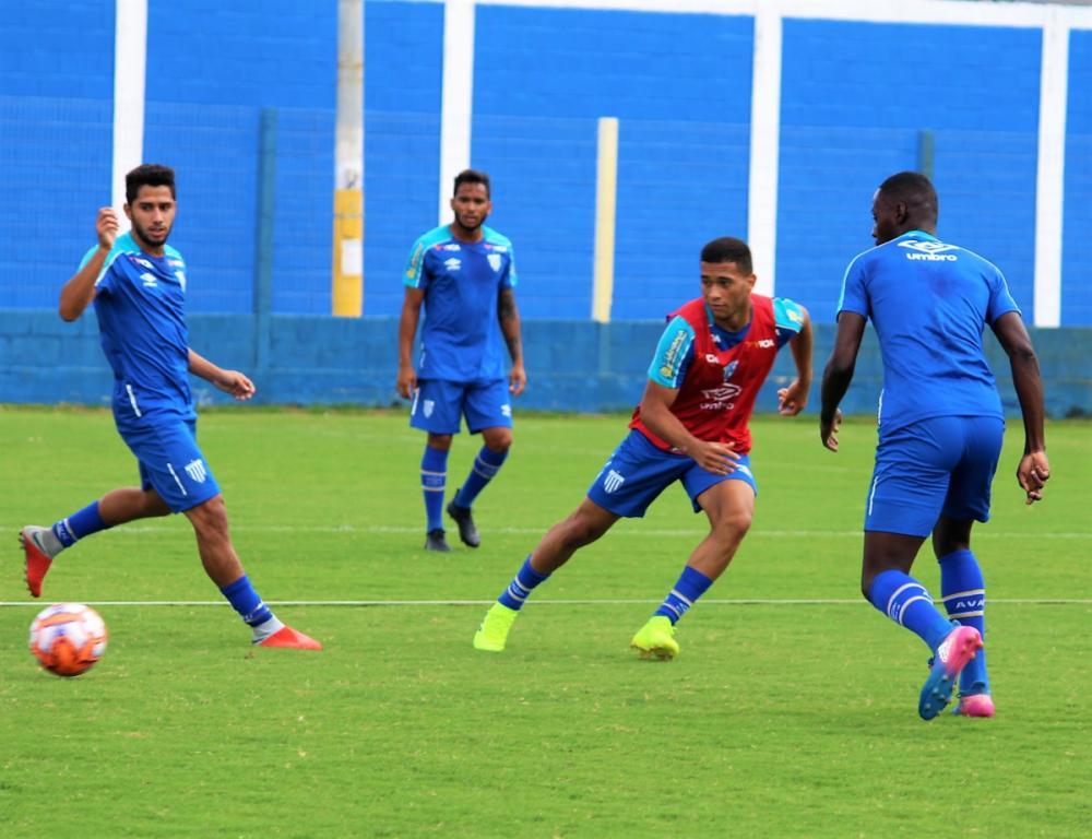 Grupo do Avaí treina em busca da primeira vitória como visitante - Avaí FC/divulgação