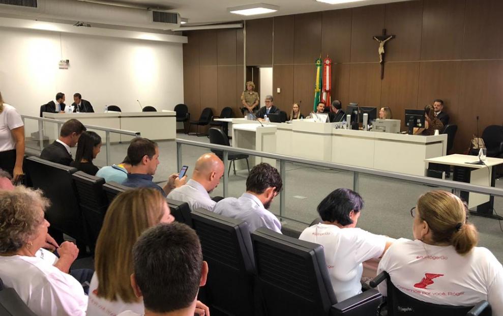 Motorista Gustavo Raupp foi julgado nesta quinta-feira em Florianópolis - Marco Santiago/ND