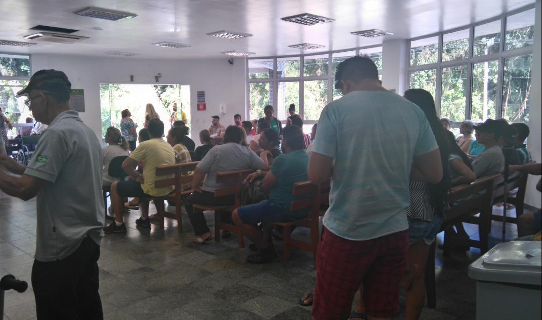 Emergência geral do Hospital Regional de São José - Andréa da Luz/ND