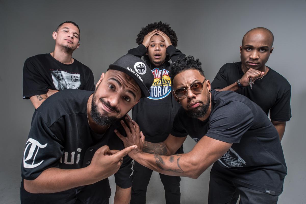 Grupo ViroZueira faz uma mistura de samba, rap e outros ritmos - Divulgação/ND