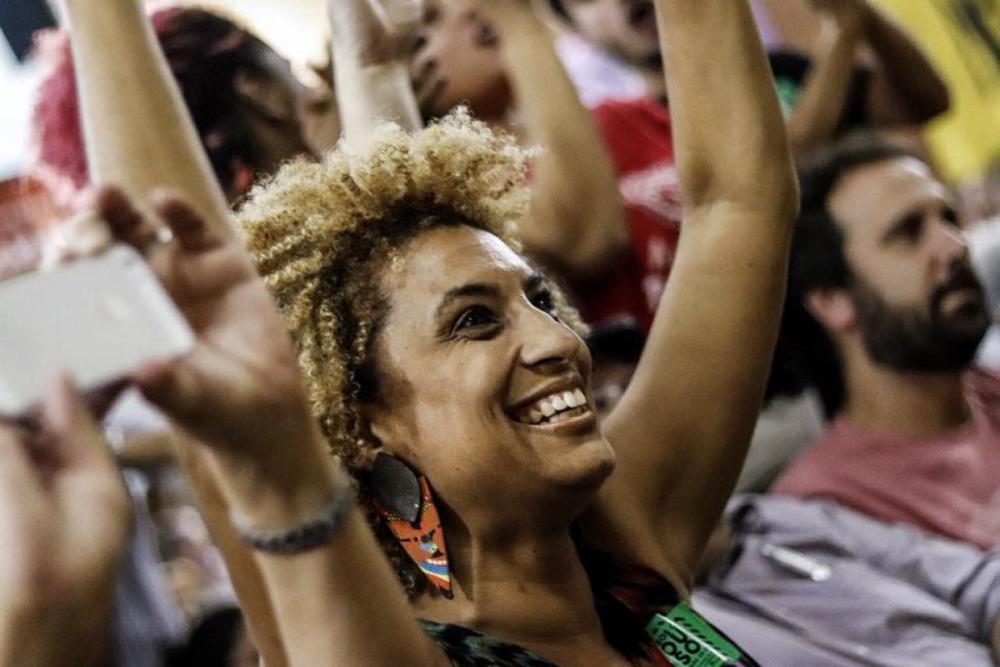 PSOL de Florianópolis convocou ato de homenagem e protesto contra morte da vereadora do Rio - Facebook/Reprodução