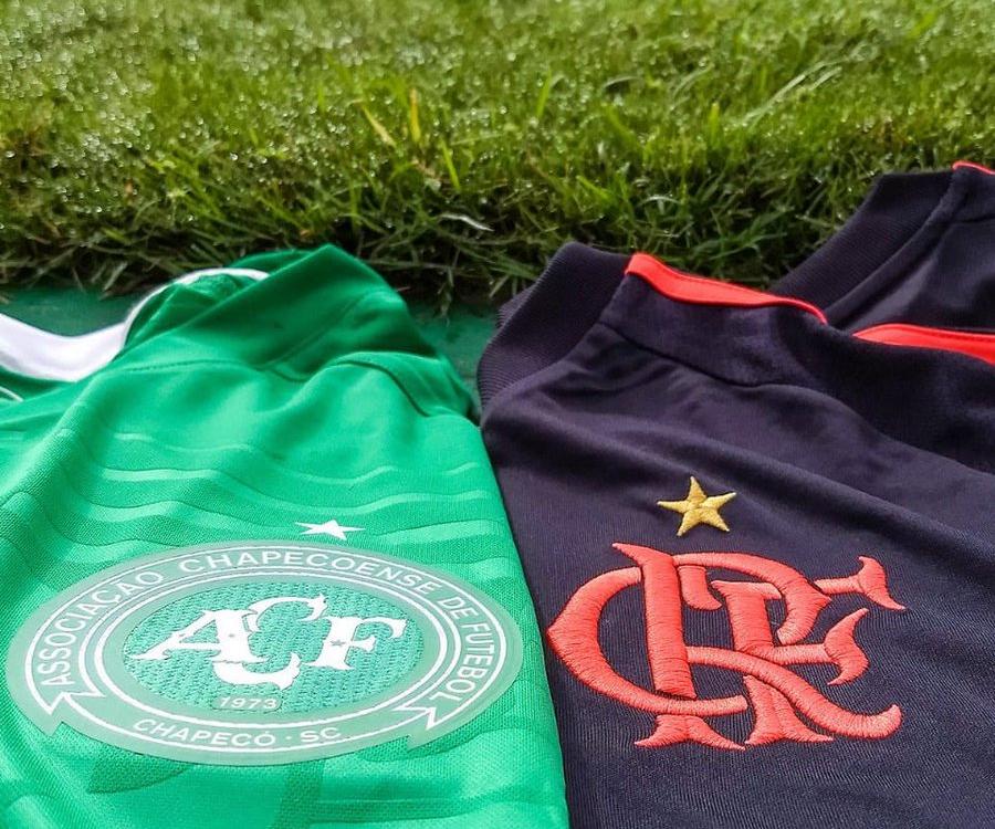 Clubes como a Chapecoense demonstraram solidariedade ao Flamengo - Reprodução Twitter/ND