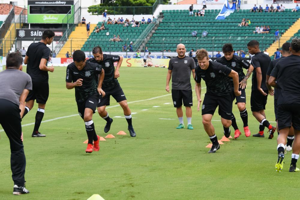 Treinamento do Figueirens - Figueirense FC/divulgação