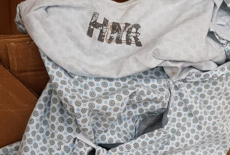 Homem encontrado morto vestia um avental do hospital Nereu Ramos - Polícia Militar/ND