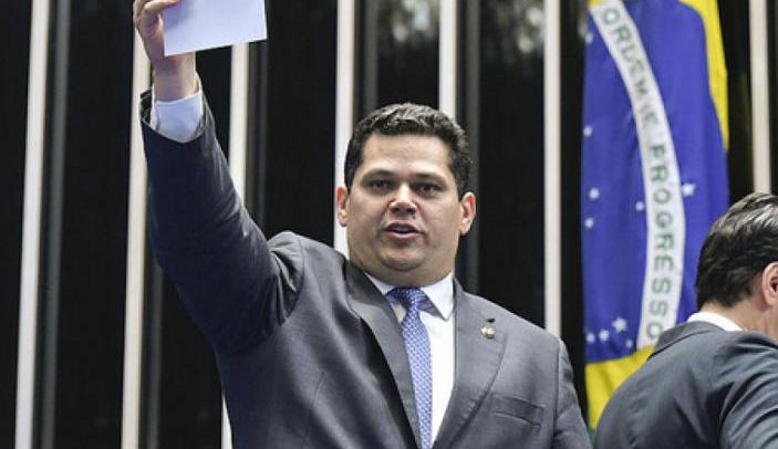 Senador Davi Alcolumbre é presidente do Senado com 42 votos - Geraldo Magela/Agência Senado/ Divulgação/D