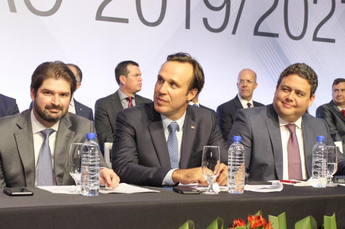 Rafael Horn tomou posse nesta quinta-feira como presidente da OAB/SC nesta quinta-feira - Julia Knabem/Divulgação/ND