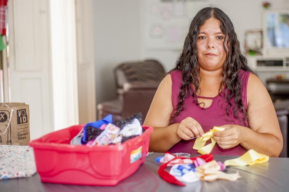 Andreína Contreras, 30 anos, de Barcelona, dava aulas de educação comercial em um colégio católico - Flávio Tin/ND