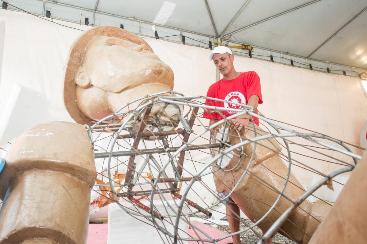 Preparação do Consulado do Samba - Marco Santiago/ND