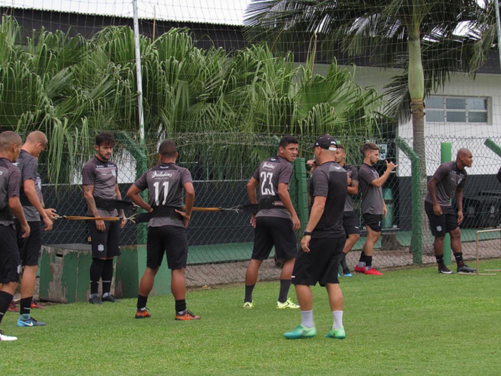 Grupo do Figueirense treinou na tarde desta quarta-feira (6) no CFT do Cambirela - Patrick Floriani/FFC