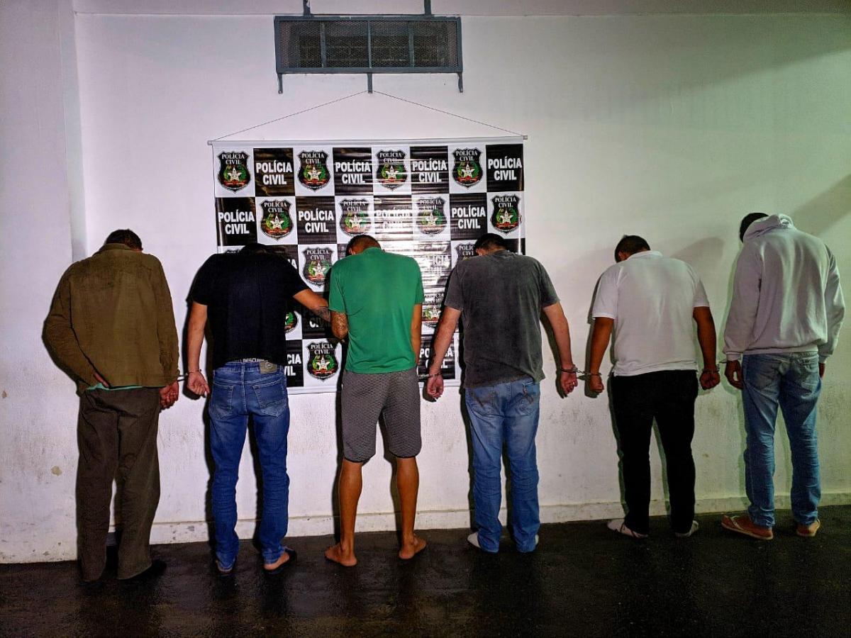 Integrantes de quadrilha especializada em falsificar documentos são presos - Policia Civil/Divulgação/ND