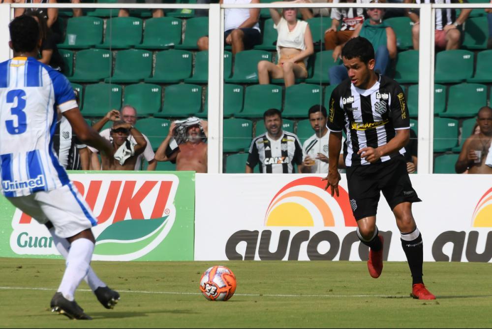 Atacante Alípio desencantou diante do Joinville - Hermes Bezerra/Figueirense/ND
