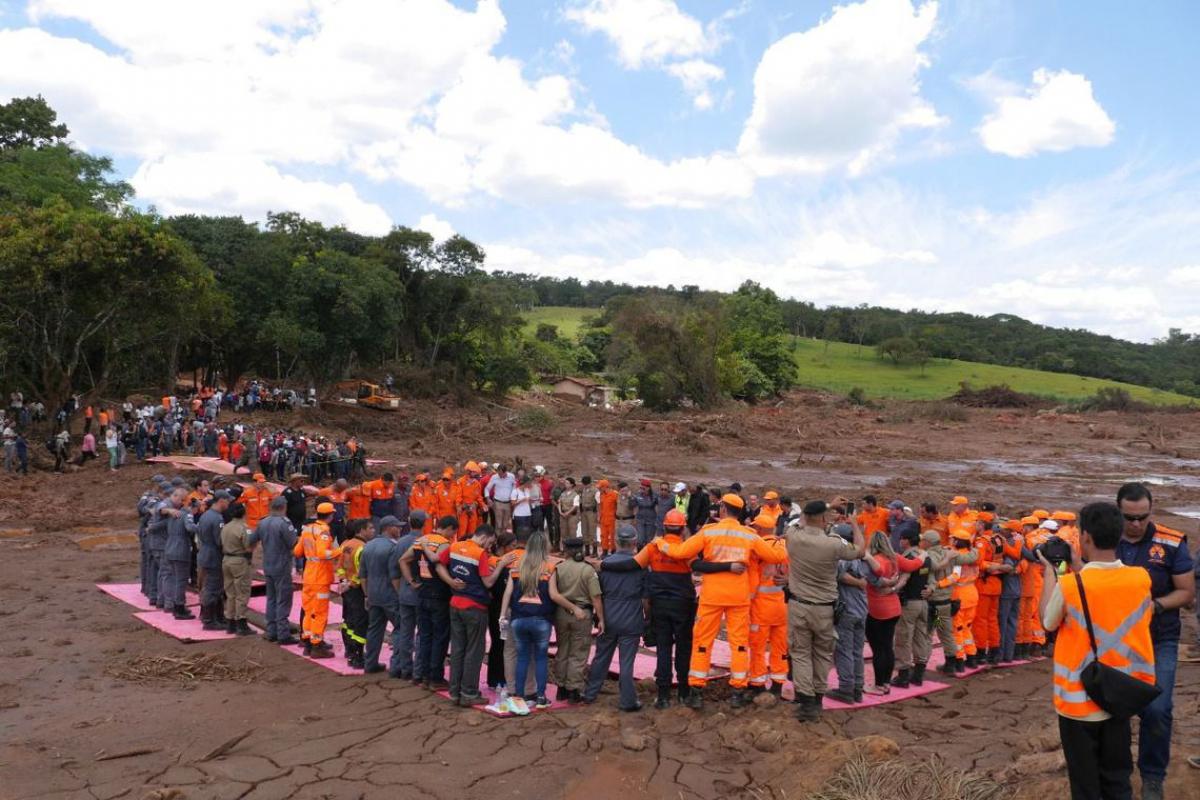 Número de desaparecidos ainda é alto em Brumadinho (MG) - CBMG/Agência Brasil/Divulgação