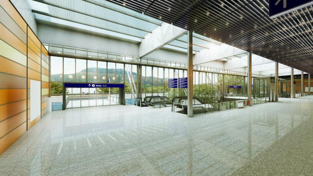 projeto do novo aeroporto de Florianópolis - divulgação, ND
