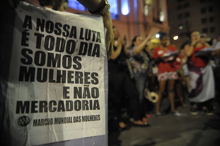 Mesmo que a Lei Maria da Penha proteja as mulheres, muitas ainda são vítimas de violência no Brasil – Foto: Fernando Frazão/Agência Brasil/ND