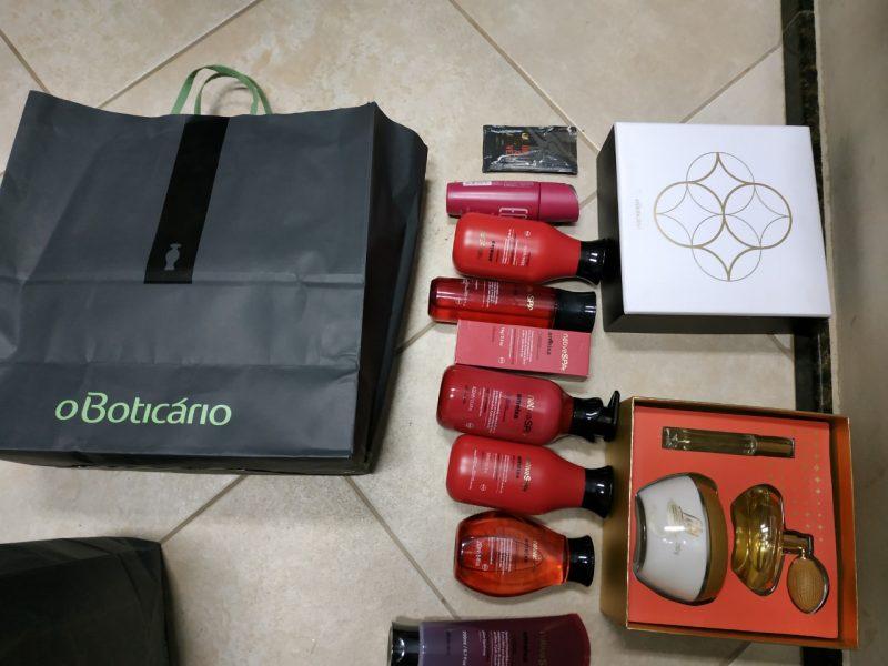 Parte dos produtos comprados pelos adolescentes – PCSC/ Divulgação