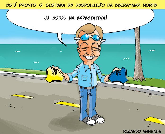 Despoluição da Beira-Mar Norte