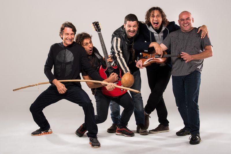 O tradicional grupo Dazaranha é uma das atrações do Dia Mundial do Rock – Toia Oliveira/Divulgação/ND