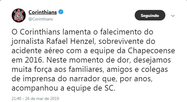 Corinthians - Reprodução/ND