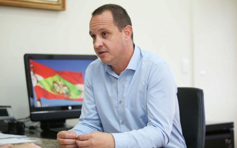 Jorge Eduardo Tasca está de volta a Secretaria de Administração após pedir exoneração em 14 de setembro. Foto: James Tavares/Divulgação/ND